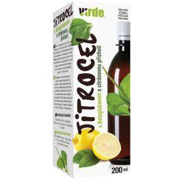 Virde Jitrocel fruktózový sirup s betaglucanem 200ml