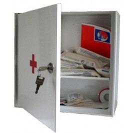 Lékárnička nástěn.s náplní do20osob-ZM20 kovová