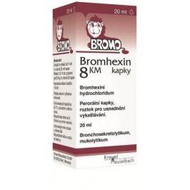 Bromhexin 8 KM kapky gtt.1x20ml 8mg/ml