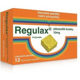 Regulax Pikosulfát kostky 10mg orm.pas.cmp.12x10mg