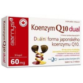 Barnys Koenzym Q10 dual 60mg cps.30