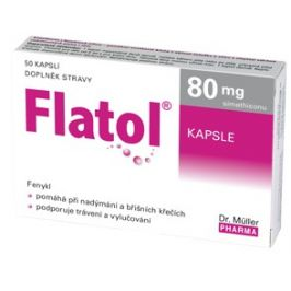 Dr.Müller Flatol 80 mg cps.50