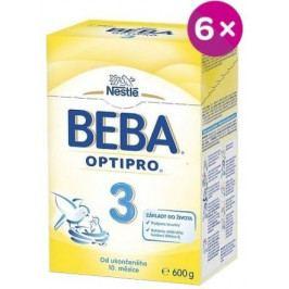 NESTLÉ Beba 3 OPTIPRO 6x600g
