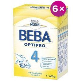 NESTLÉ Beba 4 OPTIPRO 6x600g