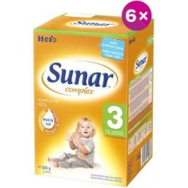 Sunar complex 3 - 6 x 600g - výhodné balení