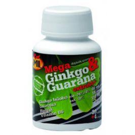 JML Mega Ginkgo Guarana+ (Gink+Guar+Mg+B 6 ) 34 kapslí