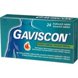 Gaviscon žvýkací tablety por.tbl.mnd. 24ks