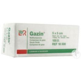 Gáza hydrofil.skl.kompr.Gazin 5x5cm/100ks 8vrstev
