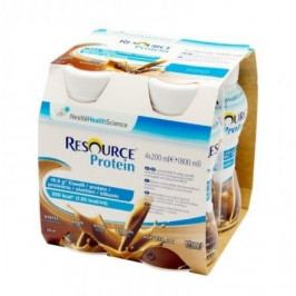 Resource Protein Kávový por.sol.4x200ml