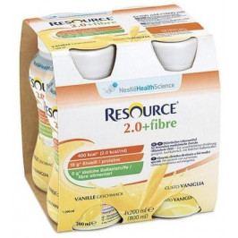 Resource 2.0kcal Fibre Vanilkový por.sol.4x200ml