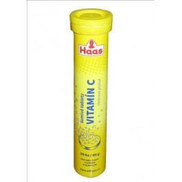 HAAS Vitamín C tbl.eff.20x60mg citron