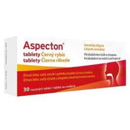 Aspecton na kašel černý rybíz 30 tablet