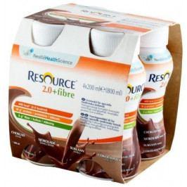 Resource 2.0 Fibre Čokoládový 4x200ml