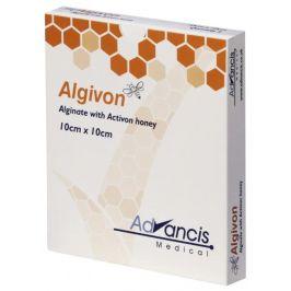 Advancis  Algivon 10x10cm krytí alginátové antimikrobakteriální 5ks