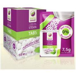 Stevia Natusweet tabl.-sáčky do dávk.10x7.5g