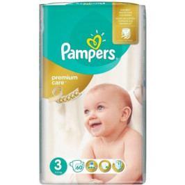 PAMPERS Premium Care Midi 4-9kg dětské pleny 60ks