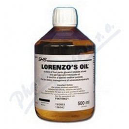 Lorenzo -Oil por.oil 1x500ml plast