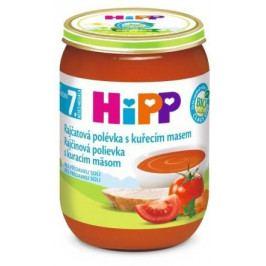 HiPP POLÉVKY BIO Rajčatová s kuřecím m.190g