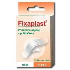 Náplast Fixaplast CLEAR strip 10ks