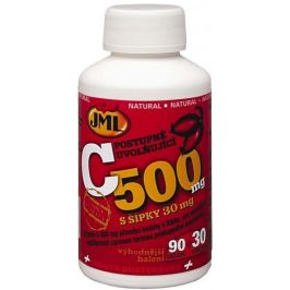 JML Vitamin C s postupným uvolňování se šípky 500mg 32 tablet