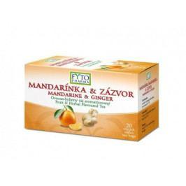 Ovocno-bylinný čaj Mandar.+Zázvor 20x2g Fytopharma