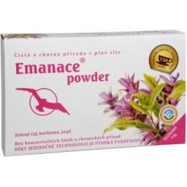 EMANACE powder čaj s kurkumou a pepřem 75g
