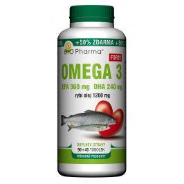 BIO Pharma  Bio-Pharma Omega 3 Forte 1200mg 90+45 tobolek