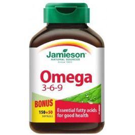 Jamieson Omega 3-6-9 1200 mg 150+50 kapslí