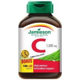 Jamieson Vitamín C 1000 mg s postupným uvolňováním 120 tablet