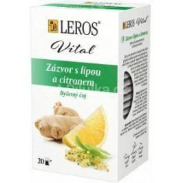 LEROS VITAL Zázvor s lípou a citronem 20x2g