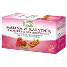 Ovocno-bylinný čaj Malina +Rakyt. 20x2g Fytopharma