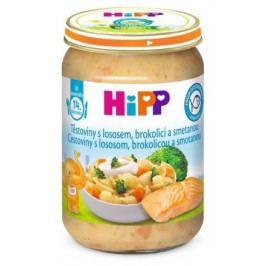 HiPP MENU BIO Těst.s losos. brok. a smet. 250g