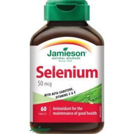 JAMIESON Selen 50 mcg+betakaroten+vit.C a E tbl.60