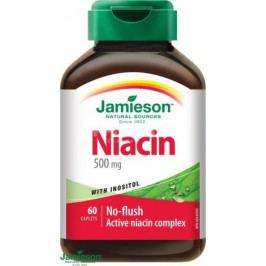 JAMIESON Niacin 500mg s inositolem tbl.60