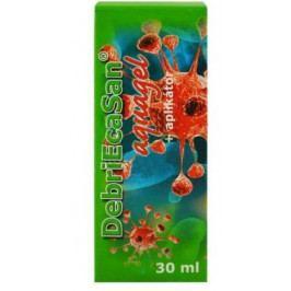 DebriEcaSan aquagel 30ml+aplikátor