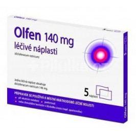 Olfen 140mg léčivé náplasti drm.emp.med.5x140mg