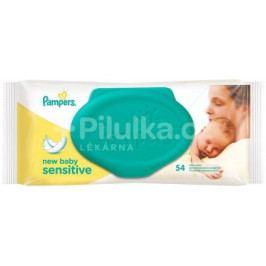 Pampers Ubrousky Sensitive New Baby 54ks