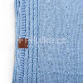 Letní deka Kinky - světle modrá