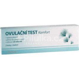 MedPharma Ovulační test Komfort 20mlU/ml 2ks