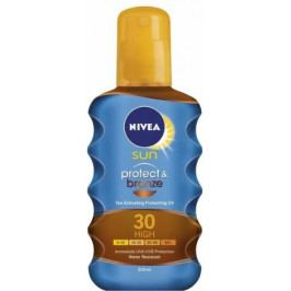 NIVEA SUN Olej na opal. Protect&Bronze OF30 200ml