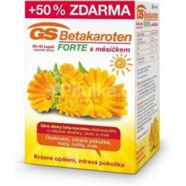 GS Betakaroten Forte s měsíčkem cps. 80+40