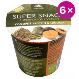 BIO SuperSnack raw konopný protein-lucuma 6x60g