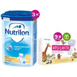 Nutrilon 5 Vanilla 3 x 800g