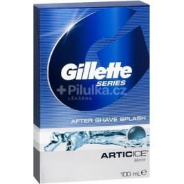Gillette Series Arctic Ice voda po holení 100ml