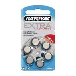 Baterie do naslouch.Rayovac Extra Adv.675/PR44 6ks