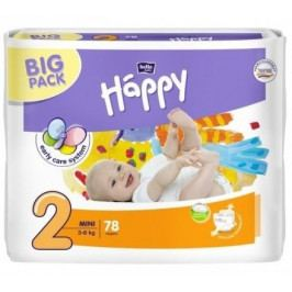 Happy Mini dětské pleny 78ks