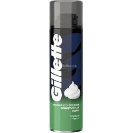 Gillette Menthol pěna na holení  200ml