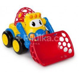 Hračka autíčko Oball Go Grippers 18m+, bagr