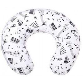 Kojící polštář New Baby Noty bílý
