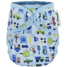 Svrchní kalhotky, modrá auta